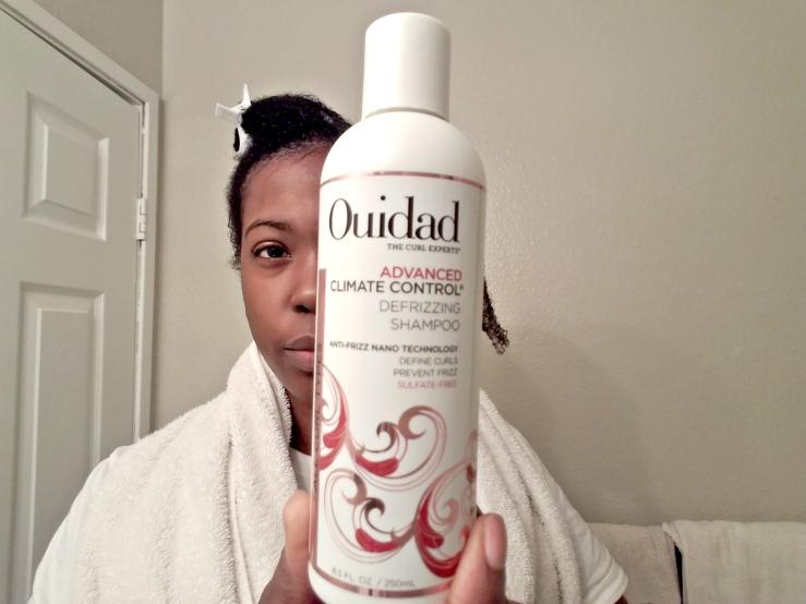 Ouidad Shampoo During1