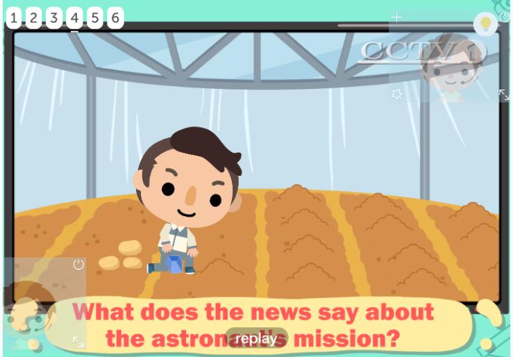 The Martian Planting Potatoes